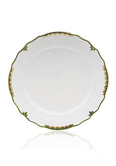Herend Princess Victoria Dark Green Service Plate