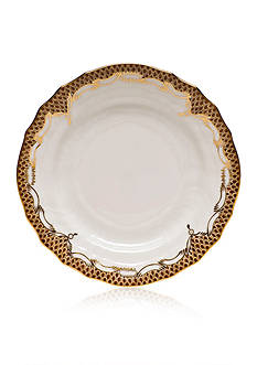 Herend Fishscale Brown Bread & Butter Plate