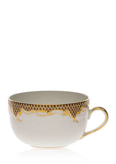 Herend Fishscale Brown Canton Cup