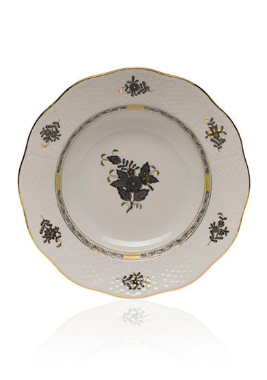 Herend Chinese Bouquet Dinnerware - Black