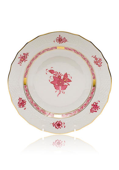 Herend Chinese Bouquet Raspberry 8.25-in. Dessert Plate