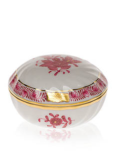 Herend Ring Box - Raspberry