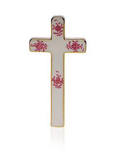 Herend Cross - Raspberry