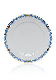 Herend Chinese Bouquet Blue Garland Service Plate