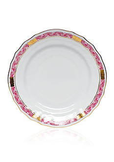 Herend Chinese Bouquet Raspberry Garland Bread & Butter Plate