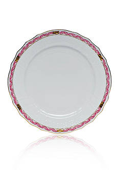Herend Chinese Bouquet Raspberry Garland Service Plate