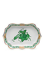 4.25-in. L X 3-in. W Mini Scalloped Tray