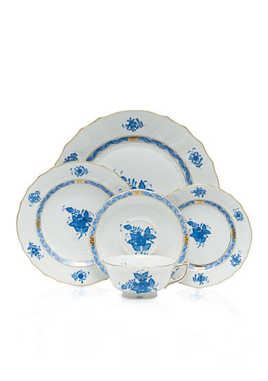 Herend Chinese Bouquet - Blue