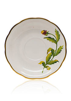 Herend American Wildflowers Tea Saucer