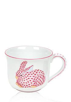 Herend Bunny Mug - Pink