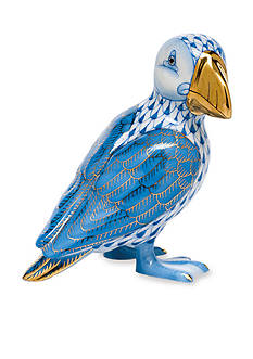 Herend Puffin - Blue