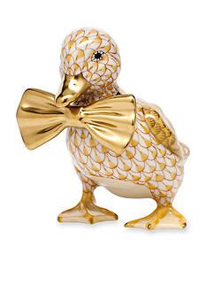 Herend Dashing Duckling Figurine