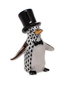 Herend Tuxedo Penguin - Black