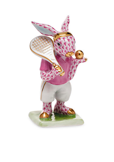 Herend Tennis Bunny - Raspberry