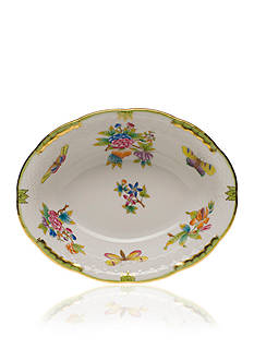 Herend 10-in. L X 8-in. W Oval Vegetable Dish