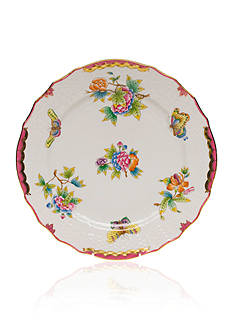 Herend Queen Victoria Pink Border Service Plate