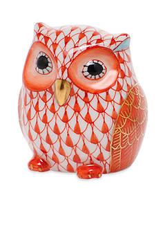 Herend Owlet - Rust