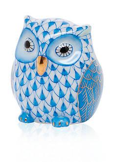 Herend Owlet - Blue
