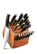 Calphalon® 21-pc. No-Stain Steel Cutlery Set