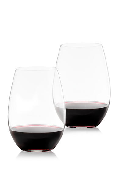 Riedel O Shiraz/Syrah Set of 2 Tumbler Glasses
