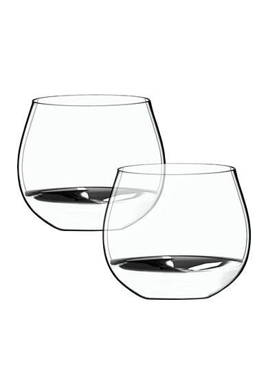 Riedel O Oaked Chardonnay Tumbler Set of 2 Glasses