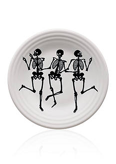 Fiesta® Trio of Skeletons Luncheon Plate