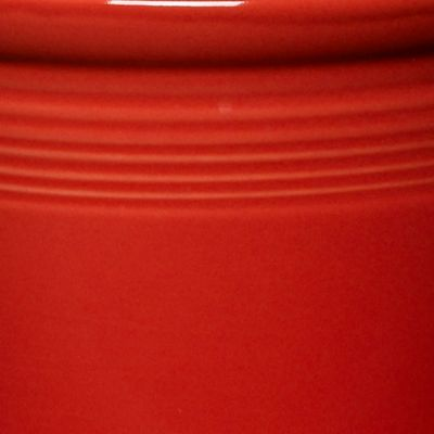 Solid Color Dinnerware: Scarlet Fiesta Medium Canister 2-qt.