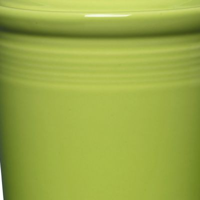 Solid Color Dinnerware: Lemongrass Fiesta Medium Canister 2-qt.