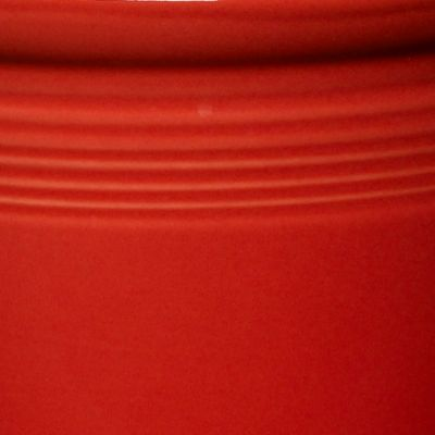 Solid Color Dinnerware: Scarlet Fiesta Large Canister 3-qt.