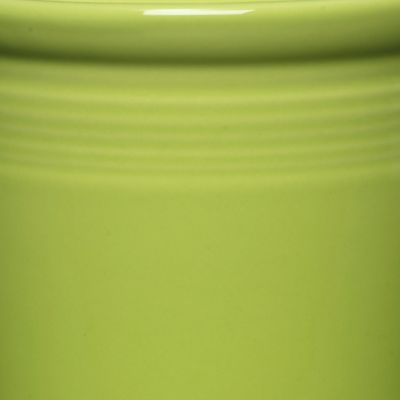 Solid Color Dinnerware: Lemongrass Fiesta Large Canister 3-qt.