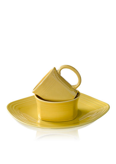 Fiesta® Square Sunflower 3-Piece Place Setting