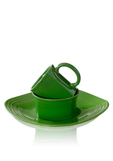 Fiesta® Square Shamrock 3-Piece Place Setting