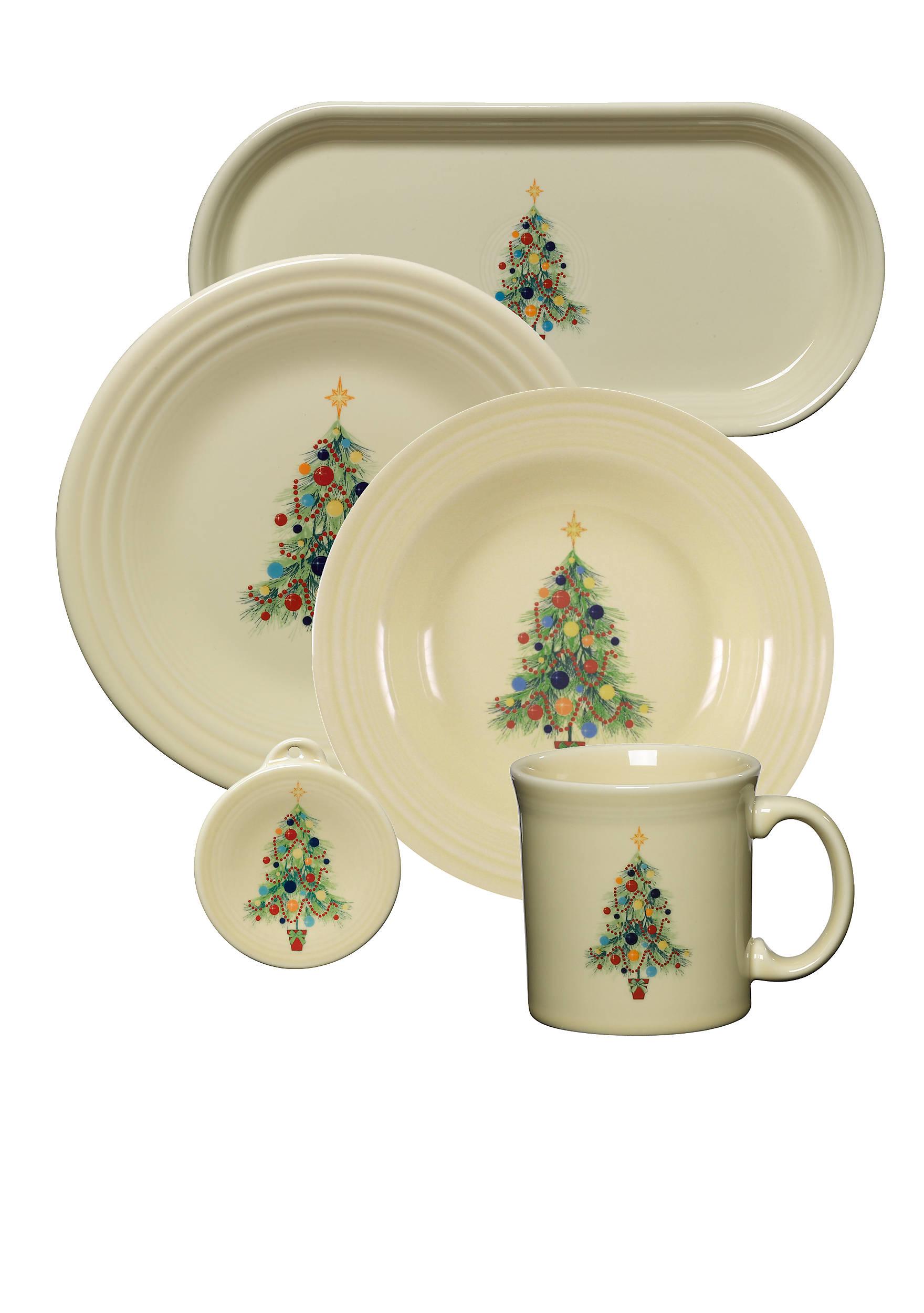 Fiesta® Christmas Tree Belk - Fiesta Christmas Tree Dinnerware
