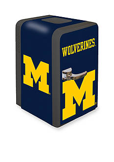 Boelter NCAA Michigan Wolverines Portable Party Refrigerator