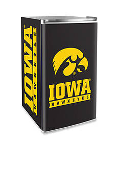 Boelter NCAA Iowa Hawkeyes Counter Top Height Refrigerator