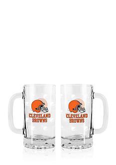 Boelter 16-oz. NFL Cleveland Browns 2-pack Glass Tankard Set