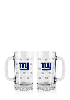 Boelter 16-oz. NFL New York Giants 2-pack Glass Tankard Set