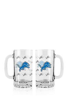 Boelter 16-oz. NFL Detroit Lions 2-pack Glass Tankard Set
