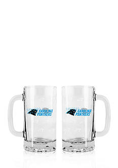 Boelter 16-oz. NFL Carolina Panthers 2-pack Glass Tankard Set