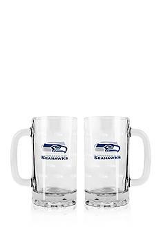 Boelter 16-oz. NFL Seattle Seahawks 2-pack Glass Tankard Set