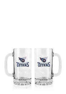 Boelter 16-oz. NFL Tennessee Titans 2-pack Glass Tankard Set