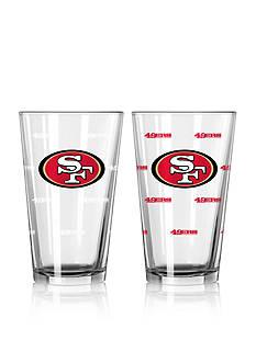 Boelter 16-oz. NFL 49ers 2-pack Color Change Pint Glass Set