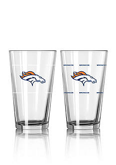 Boelter 16-oz. NFL Broncos 2-pack Color Change Pint Glass Set