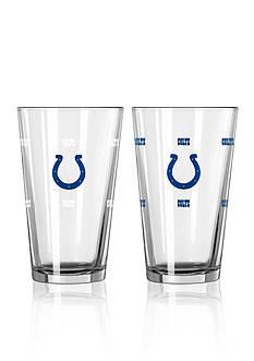 Boelter 16-oz. NFL Colts 2-pack Color Change Pint Glass Set