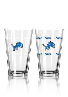 Boelter 16-oz. NFL Lions 2-Pack Color Change Pint Glass Set