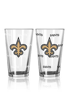 Boelter 16-oz. NFL Saints 2-Pack Color Change Pint Glass Set