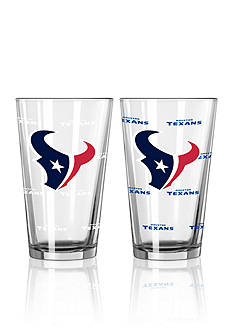 Boelter 16-oz. NFL Texans 2-Pack Color Change Pint Glass Set