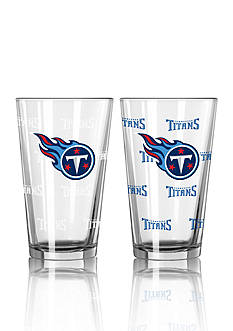 Boelter 16-oz. NFL Titans 2-pack Color Change Pint Glass Set