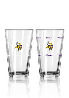 Boelter 16-oz. NFL Vikings 2-Pack Color Change Pint Glass Set