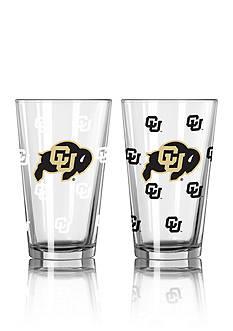 Boelter 16-oz. NCAA Colorado 2-pack Color Change Pint Glass Set